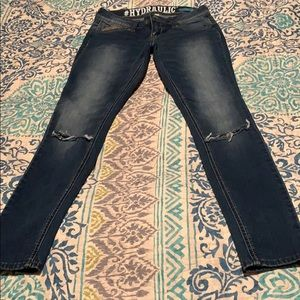 Hydraulic Jeans - Hydraulic hailey low rise jeans